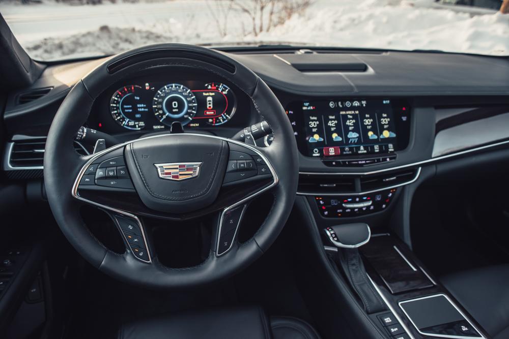 2018 Cadillac CT6 Platinum gauges