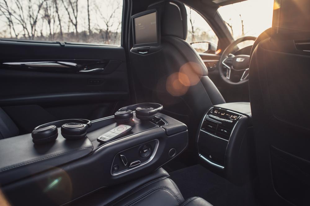 2018 Cadillac CT6 Platinum back seat audio