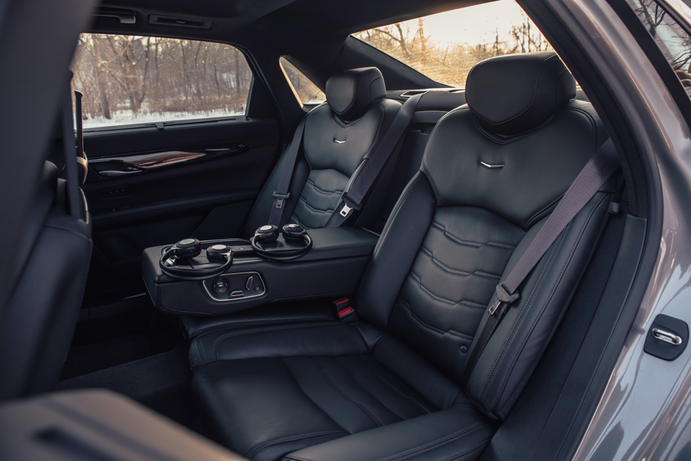 2018 Cadillac CT6 Platinum back seat