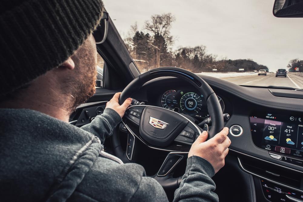 Driving the 2018 Cadillac CT6 Platinum