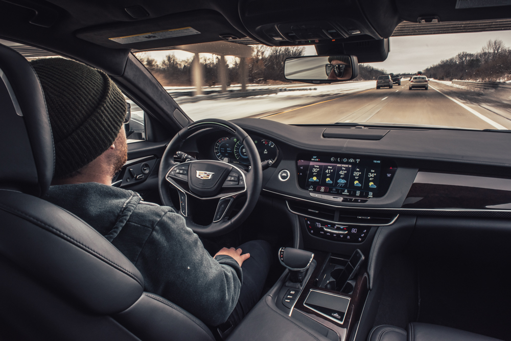 behind the wheel of the new 2018 Cadillac CT6 Platinum