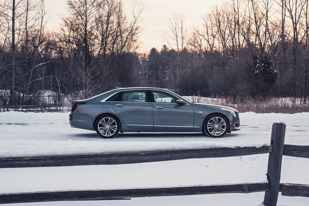 2018 Cadillac CT6 Platinum profile