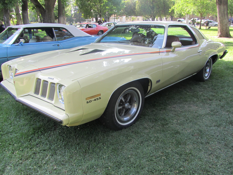 1973 Pontiac Grand Am at a show