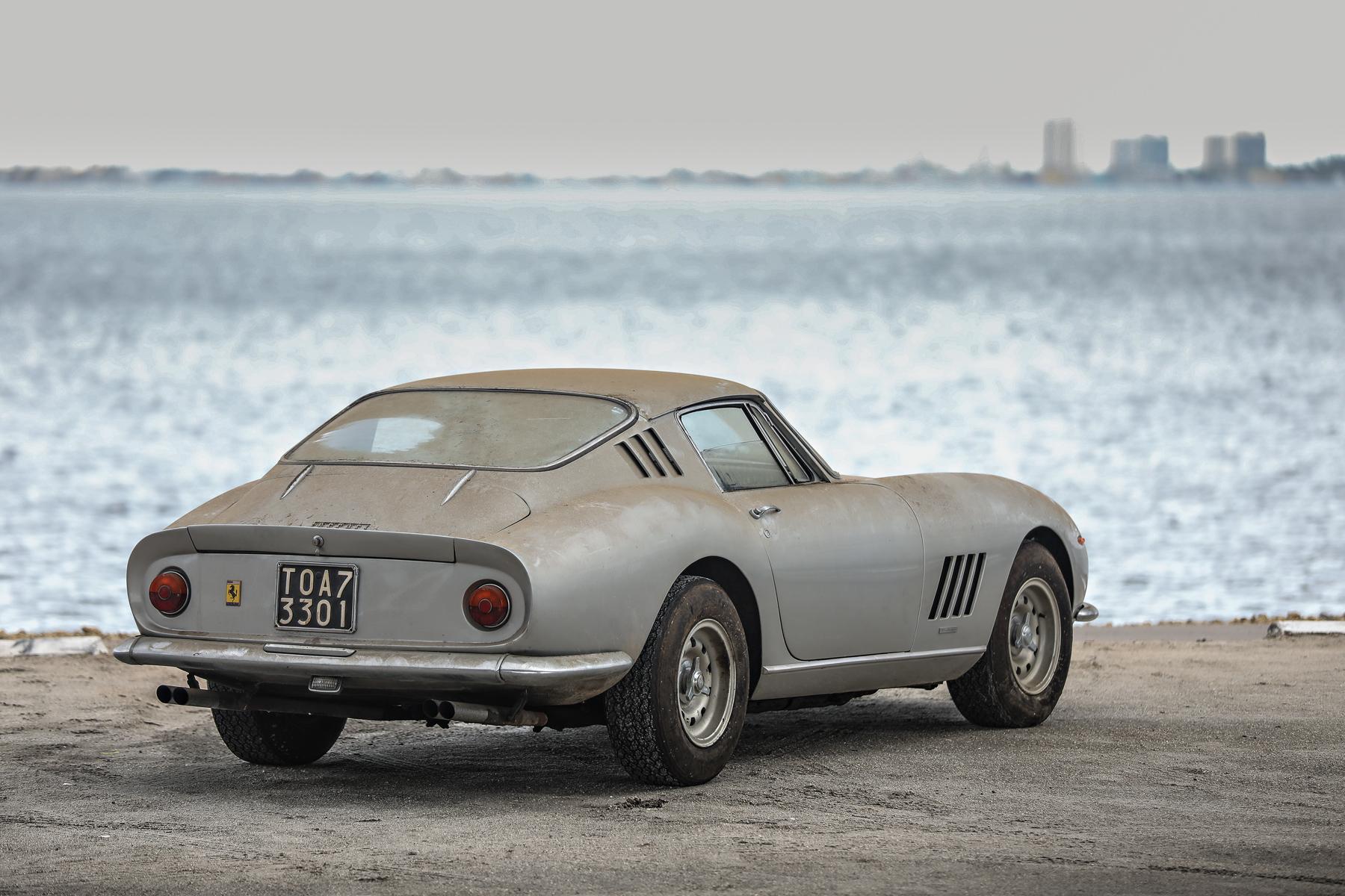 1966 Ferrari 275 GTB/2 Alloy rear 3/4