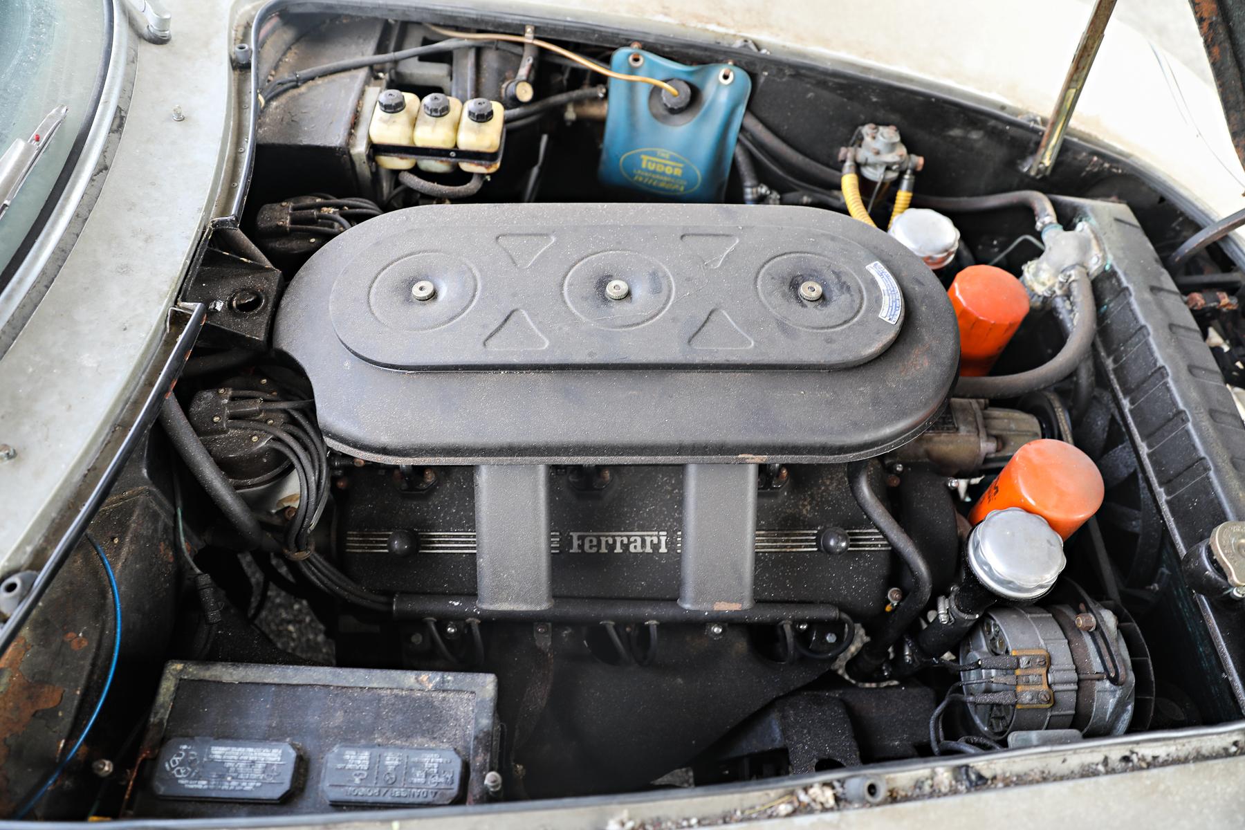 1966 Ferrari 275 GTB/2 Alloy engine
