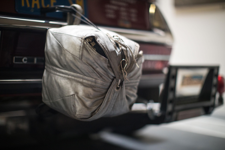 Citroën SM drag parachute