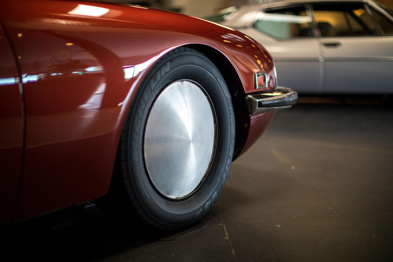 Citroën SM wheel detail