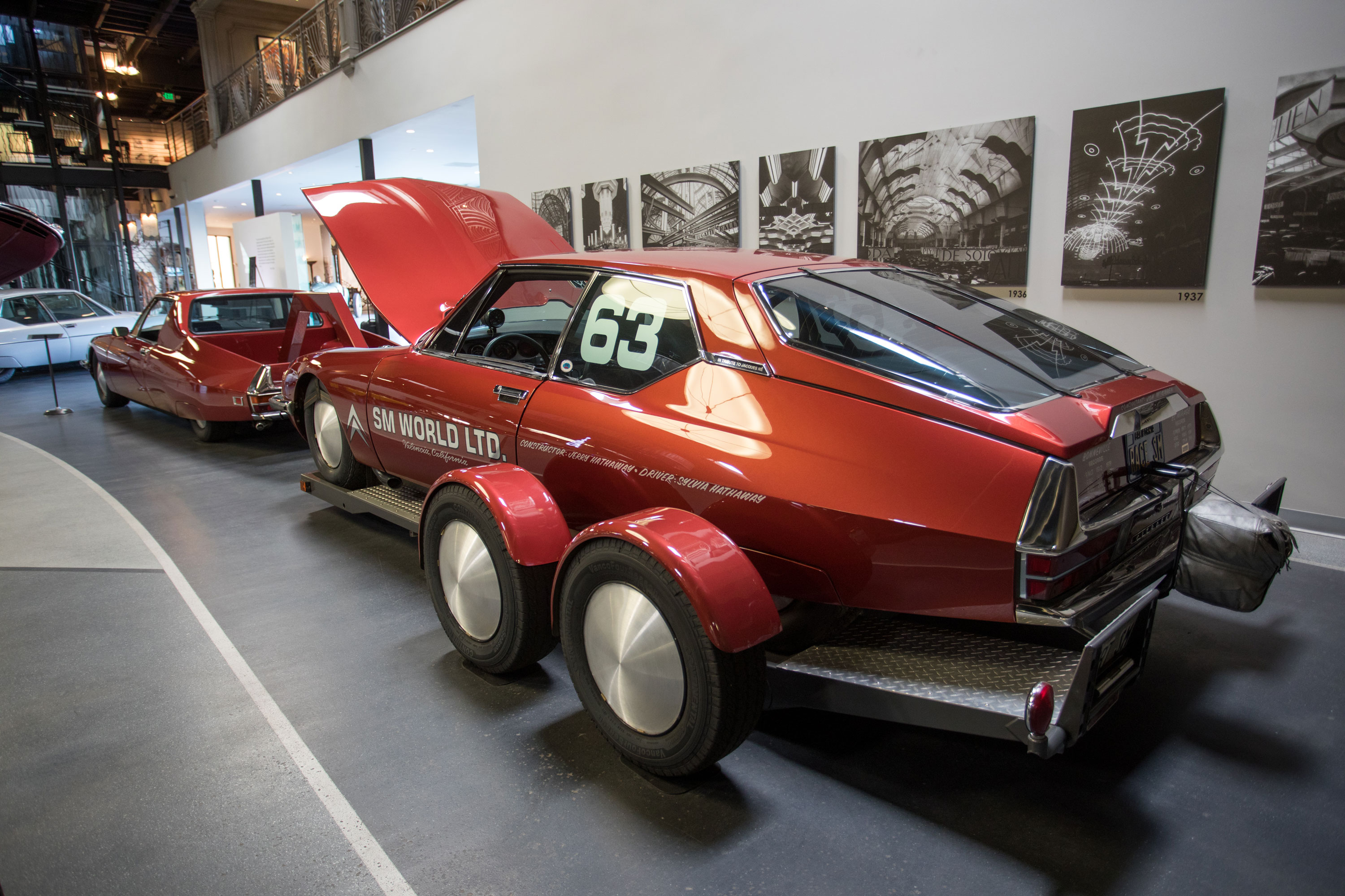 Citroën SMs at the Mullin Museum