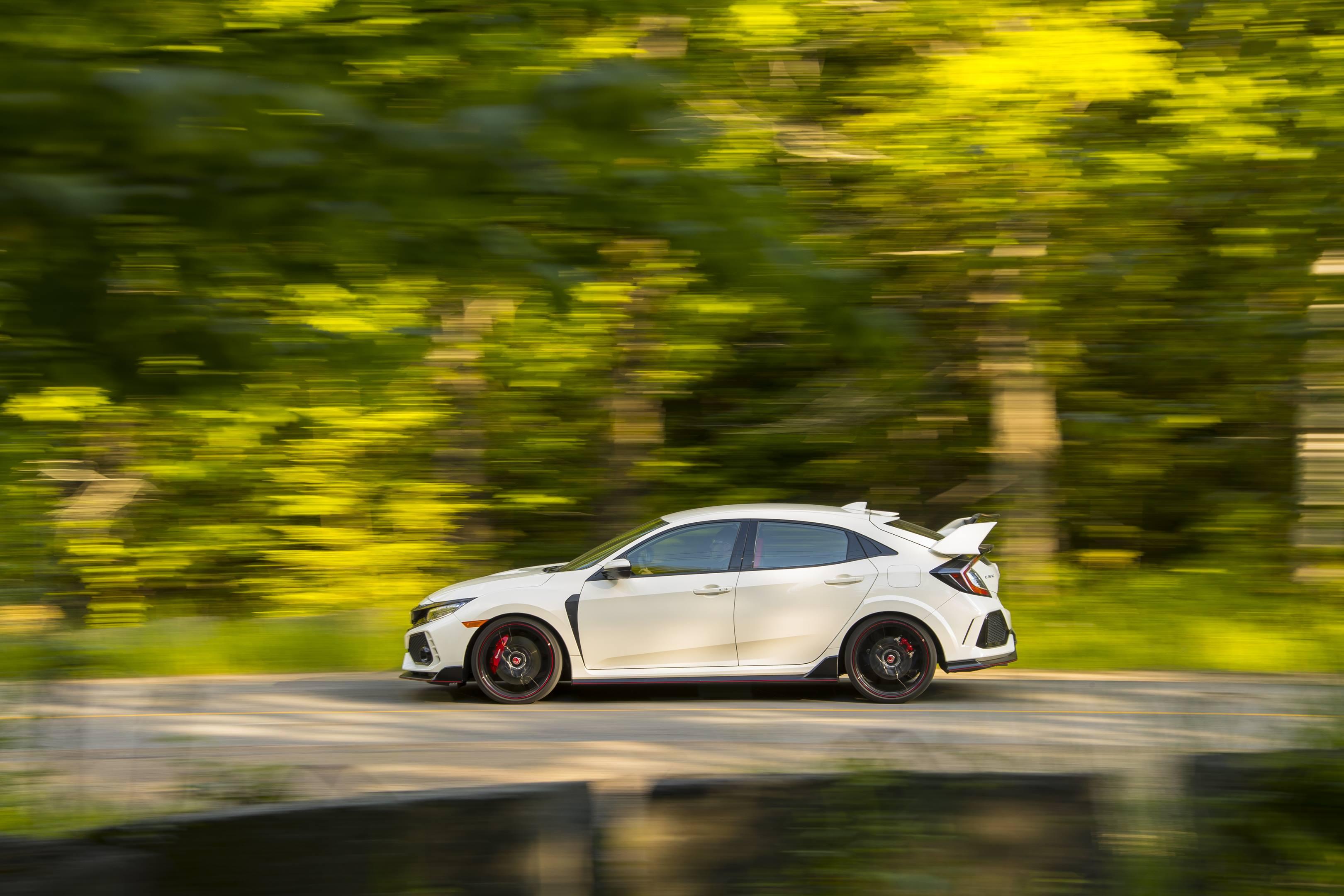 2017 Honda Civic Type R driving profile