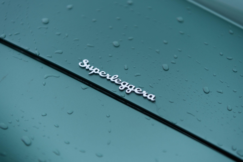 1959 Aston Martin DB4 GT superleggera badge detail