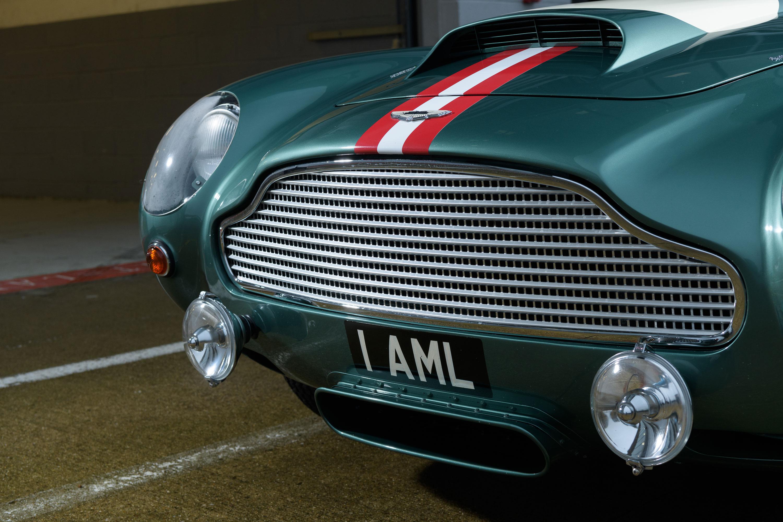 1959 Aston Martin DB4 GT grille detail