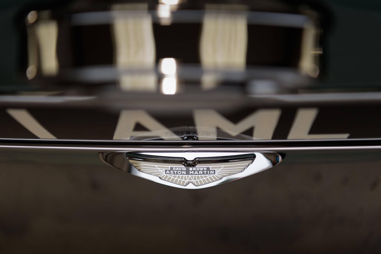 1959 Aston Martin DB4 GT David Brown Aston Martin badge