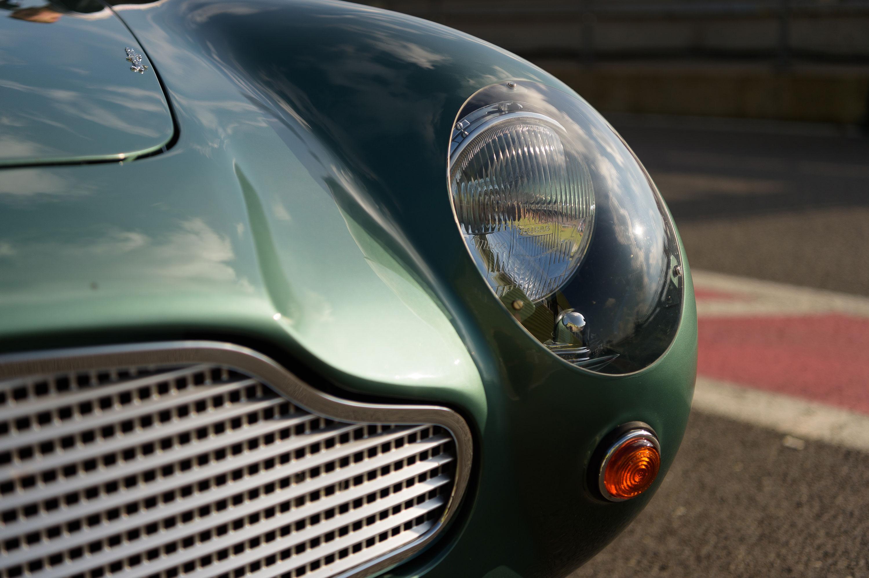 1959 Aston Martin DB4 GT headlight detail