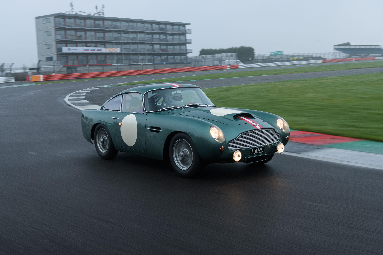 1959 Aston Martin DB4 GT driving