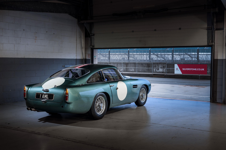 1959 Aston Martin DB4 GT in the paddock