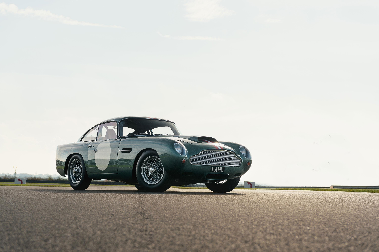 1959 Aston Martin DB4 GT low front 3/4