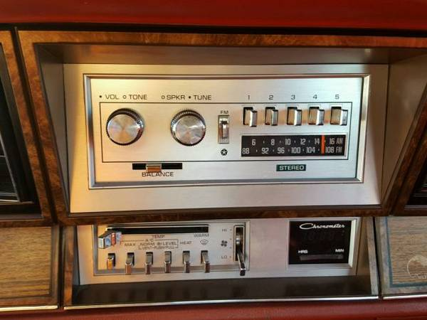 1983 Dodge 600 sedan radio