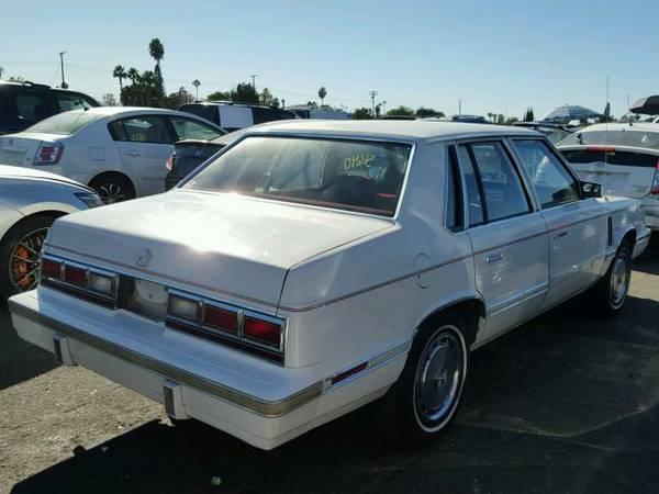 1983 Dodge 600 sedan