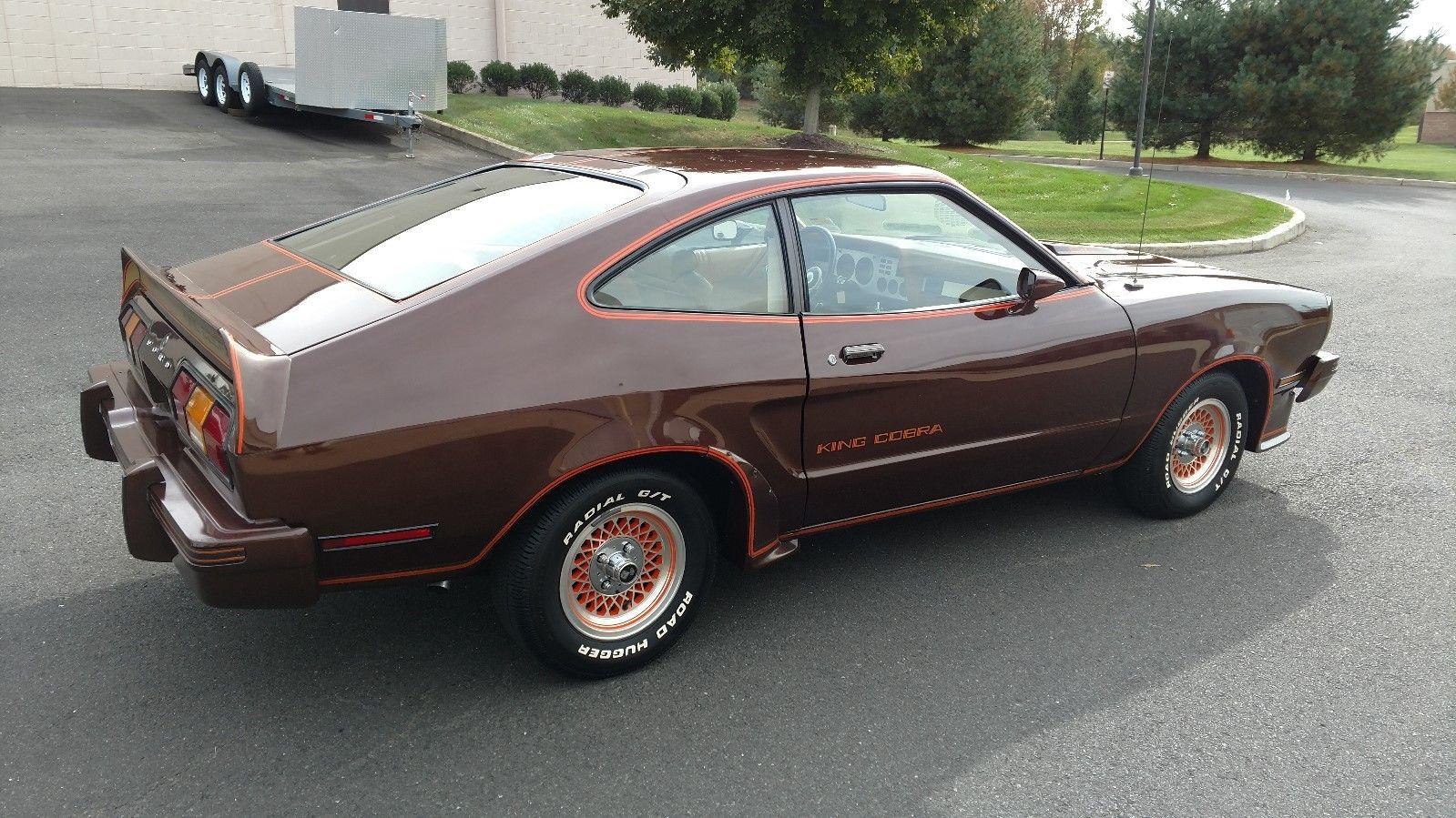 1978 Ford Mustang II King Cobra profile