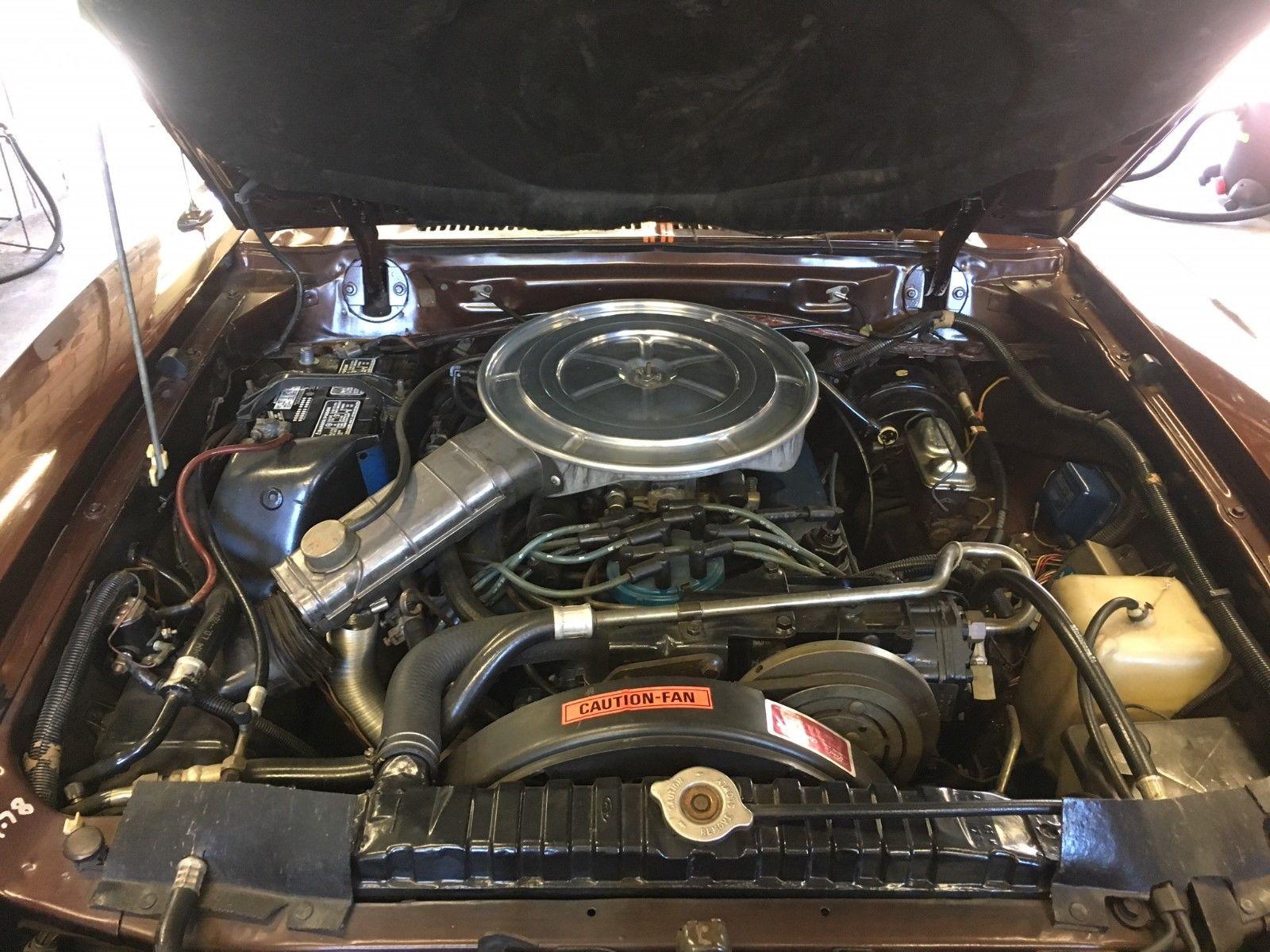 1978 Ford Mustang II King Cobra engine
