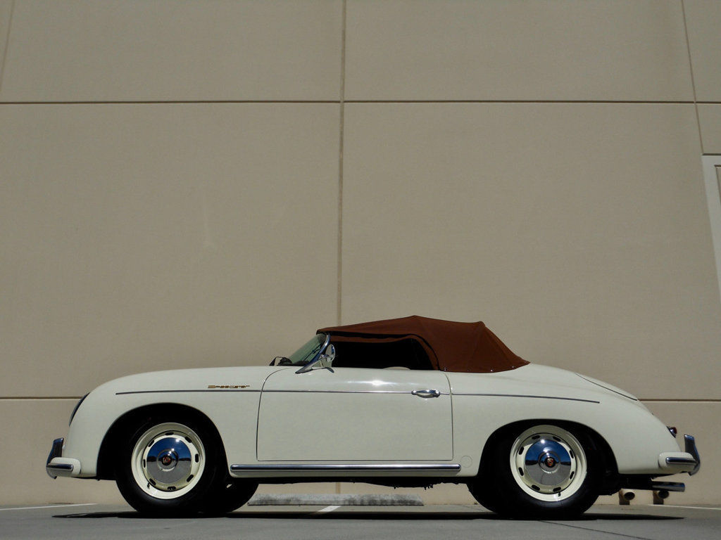 1957 Porsche 356 Speedster replica profile