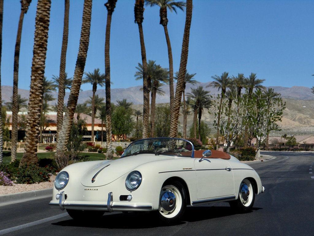 1957 Porsche 356 Speedster replica front 3/4