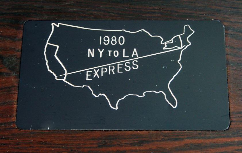 1980 U.S. Express NY to LA
