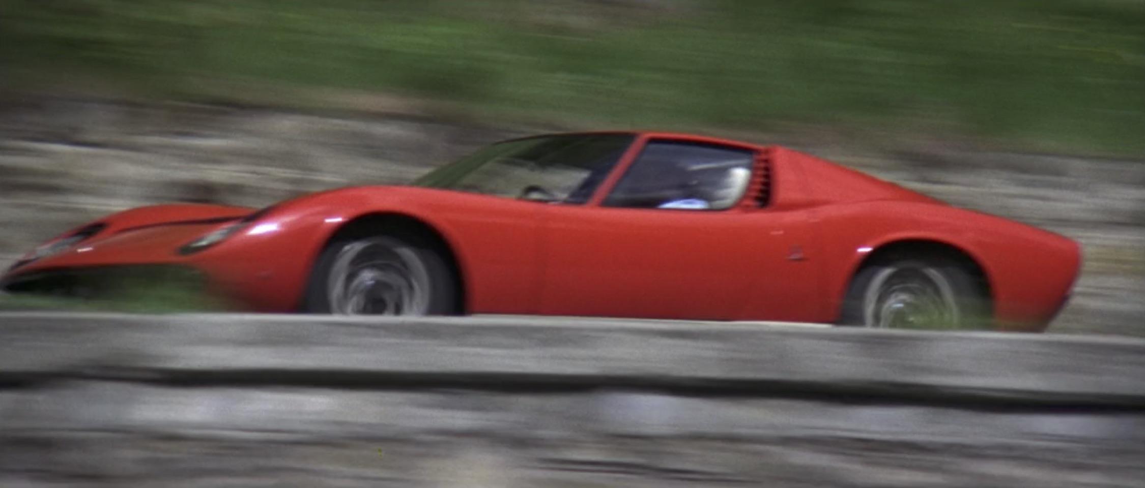 Italian Job 1968 Lamborghini Miura P400