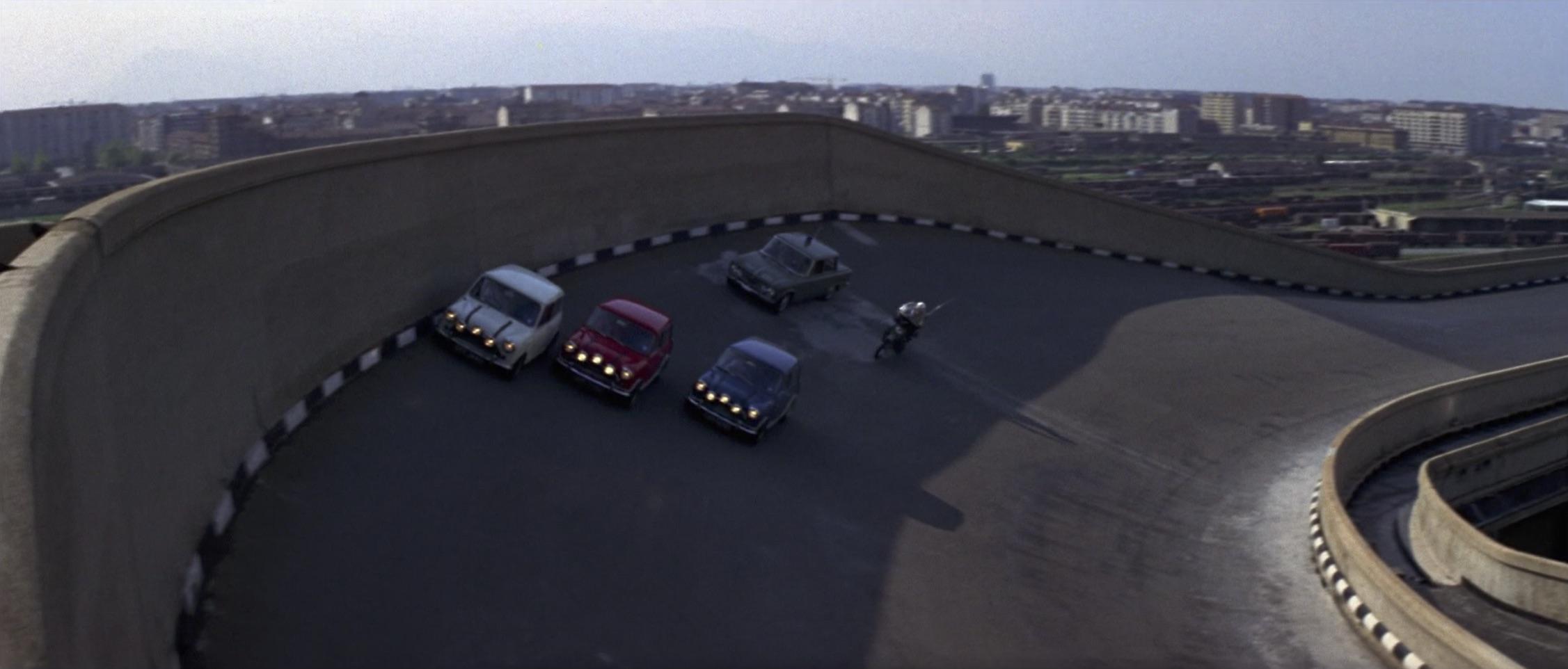 Italian Job driving scene