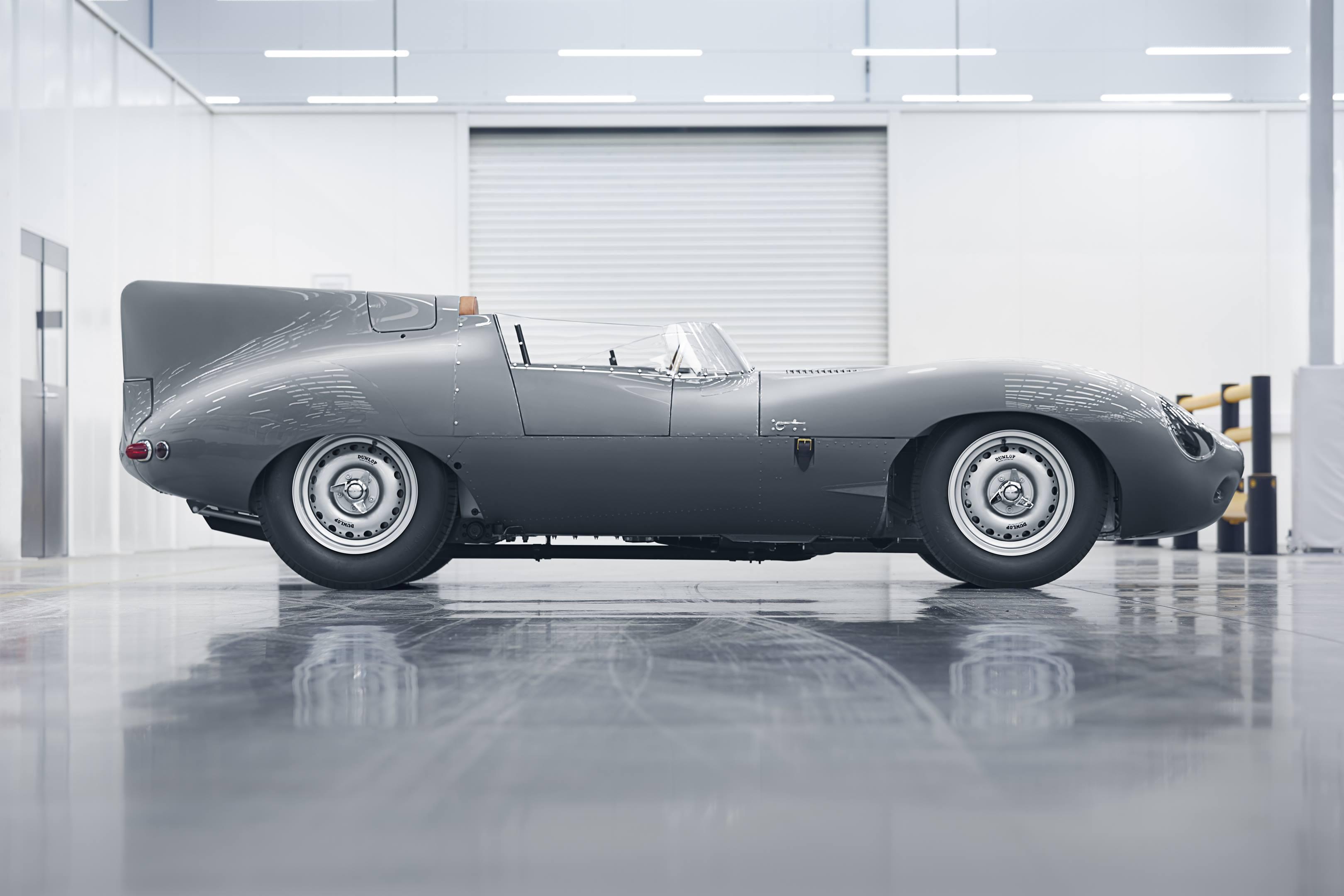 Jaguar D-type profile