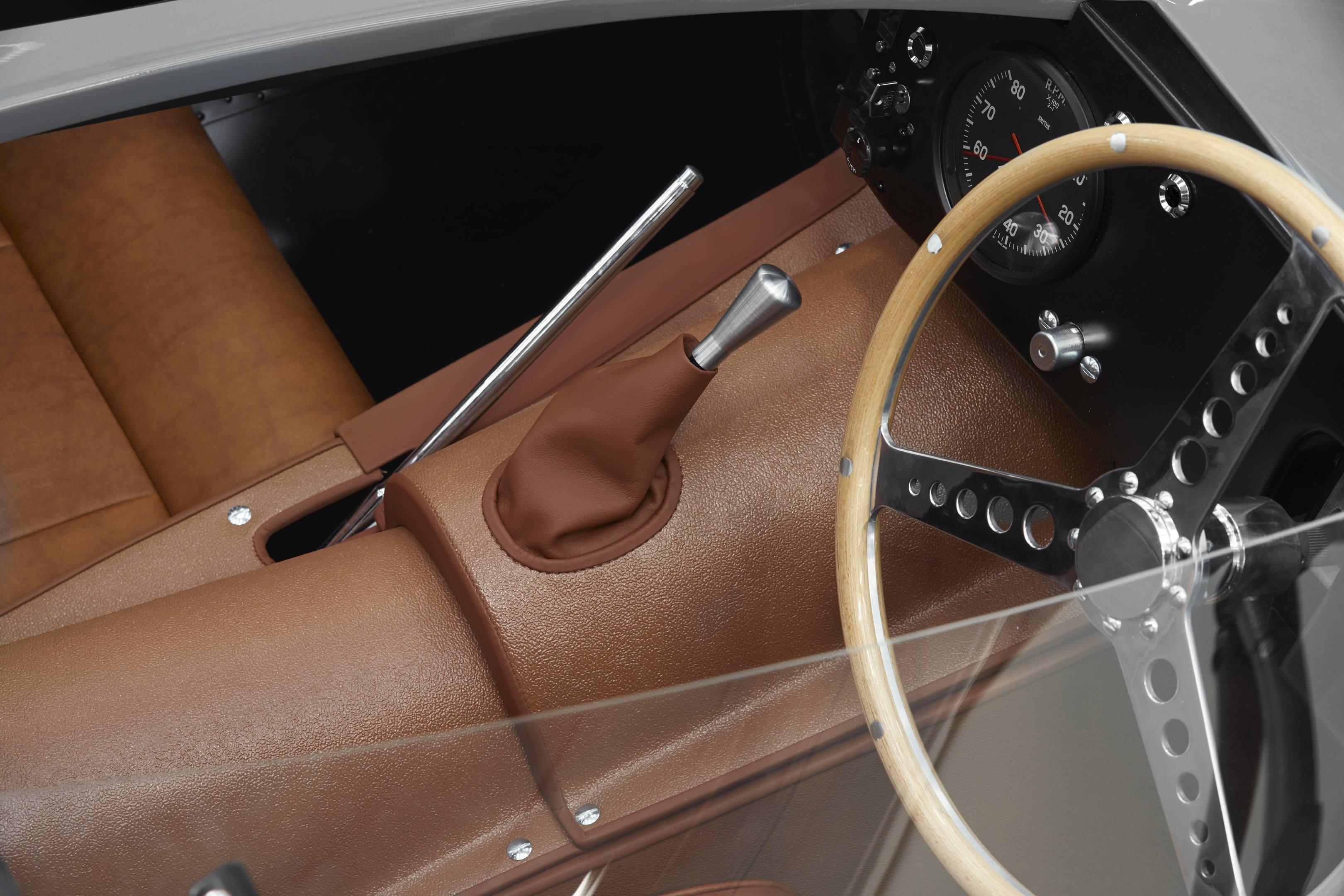 Jaguar D-type center console