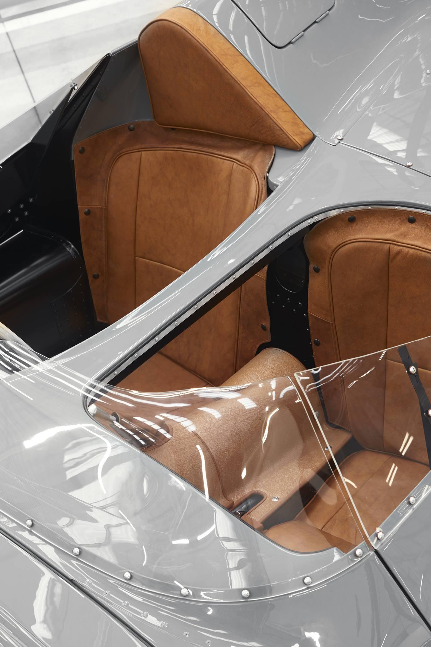 Jaguar D-type interior