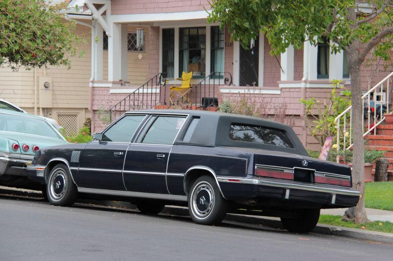 Chrysler K-Car limousine Left hand rear corner view