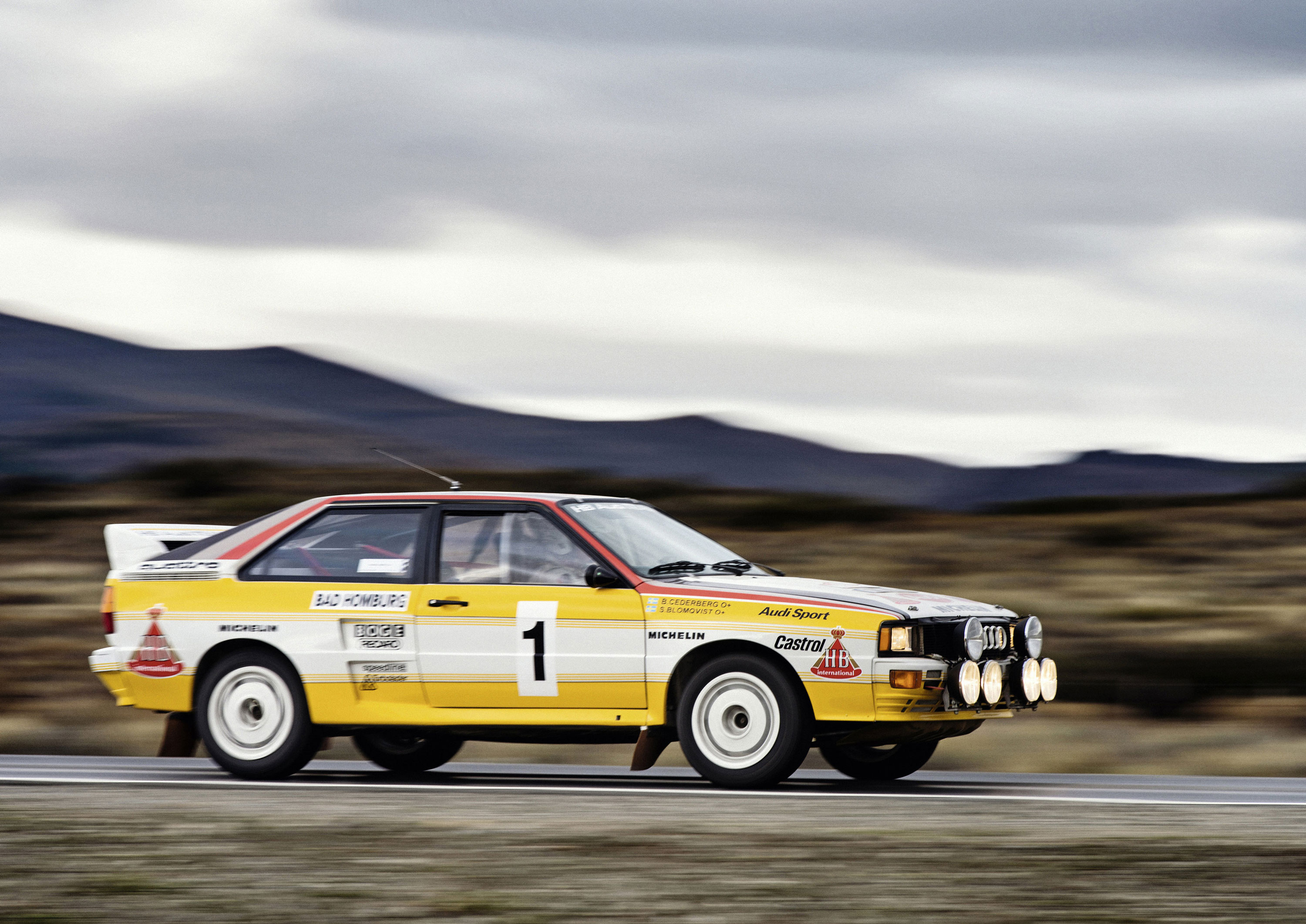 1983 Audi quattro A2, Group B