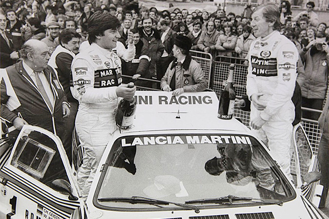 1983 Lancia 037 at Monte Carlo in '83