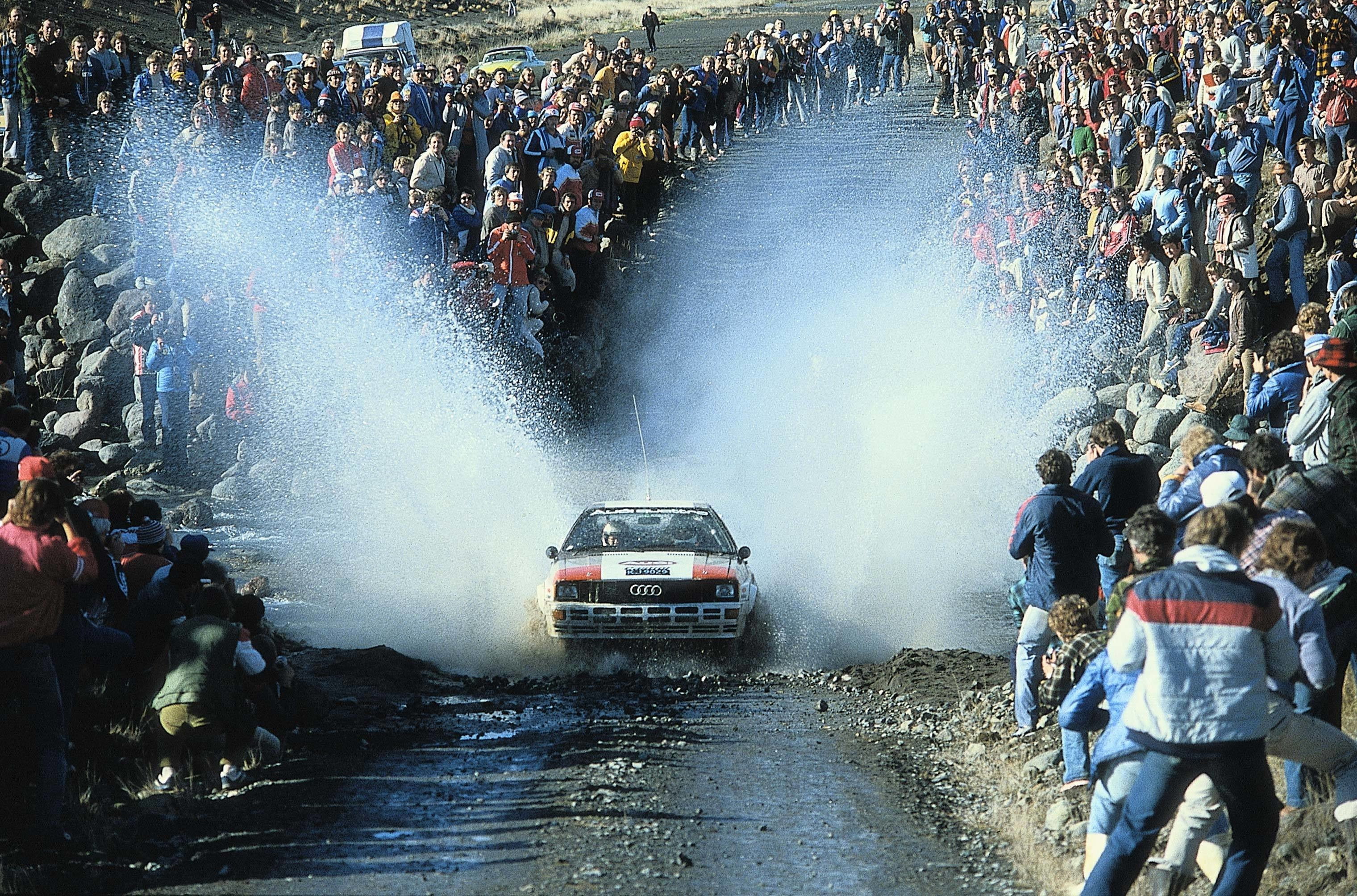 1982: Audi clinches the Rally World Championship for Manufacturers