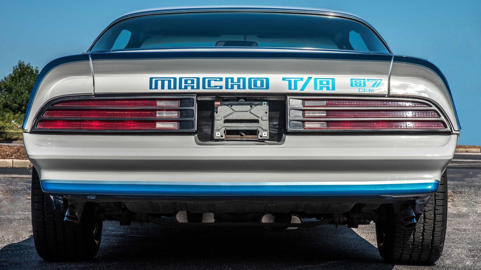 1978 Pontiac Macho Trans Am rear