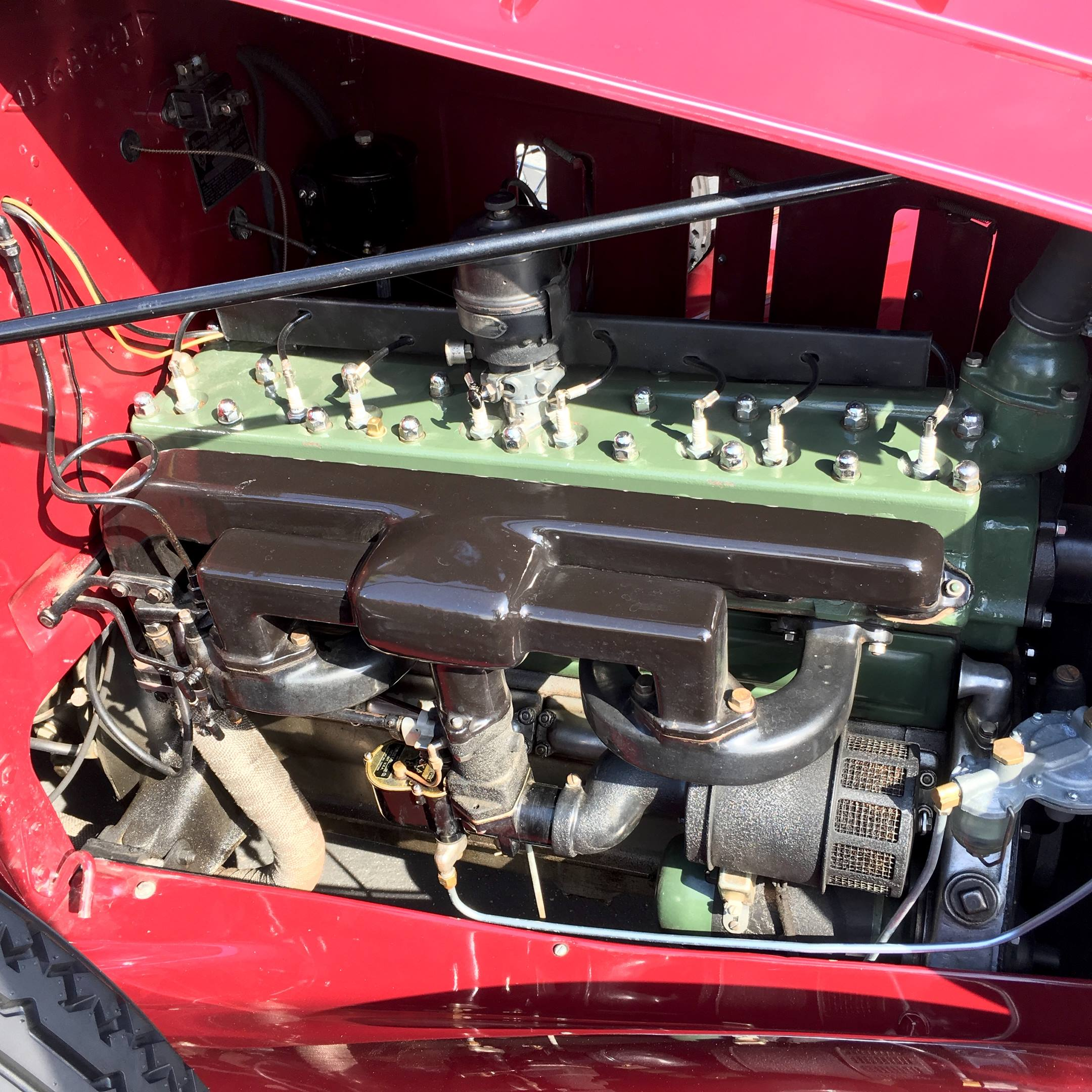 1932 Packard straight eight 257 cubic inch engine