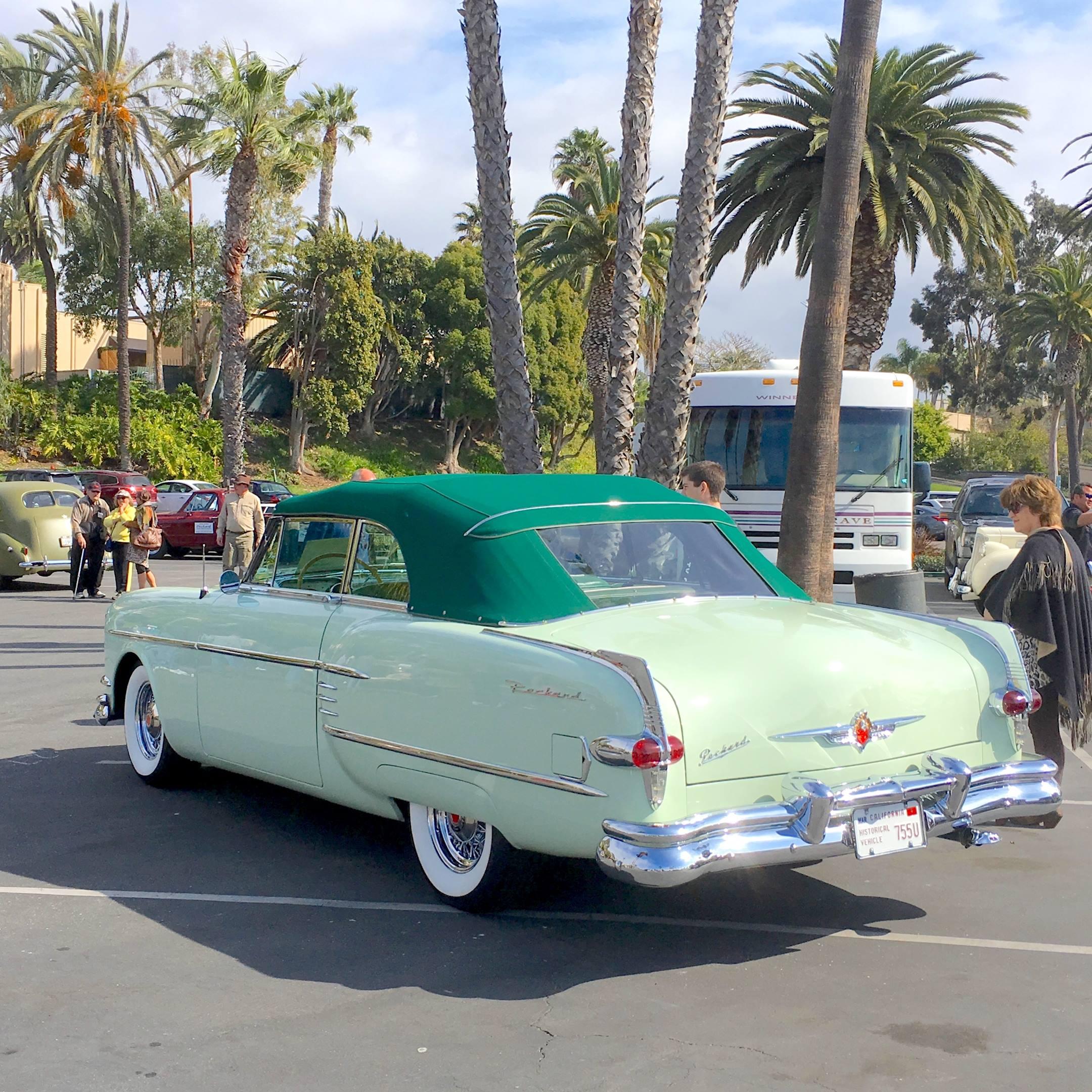 1954 Packard Caribbean left hand rear corner