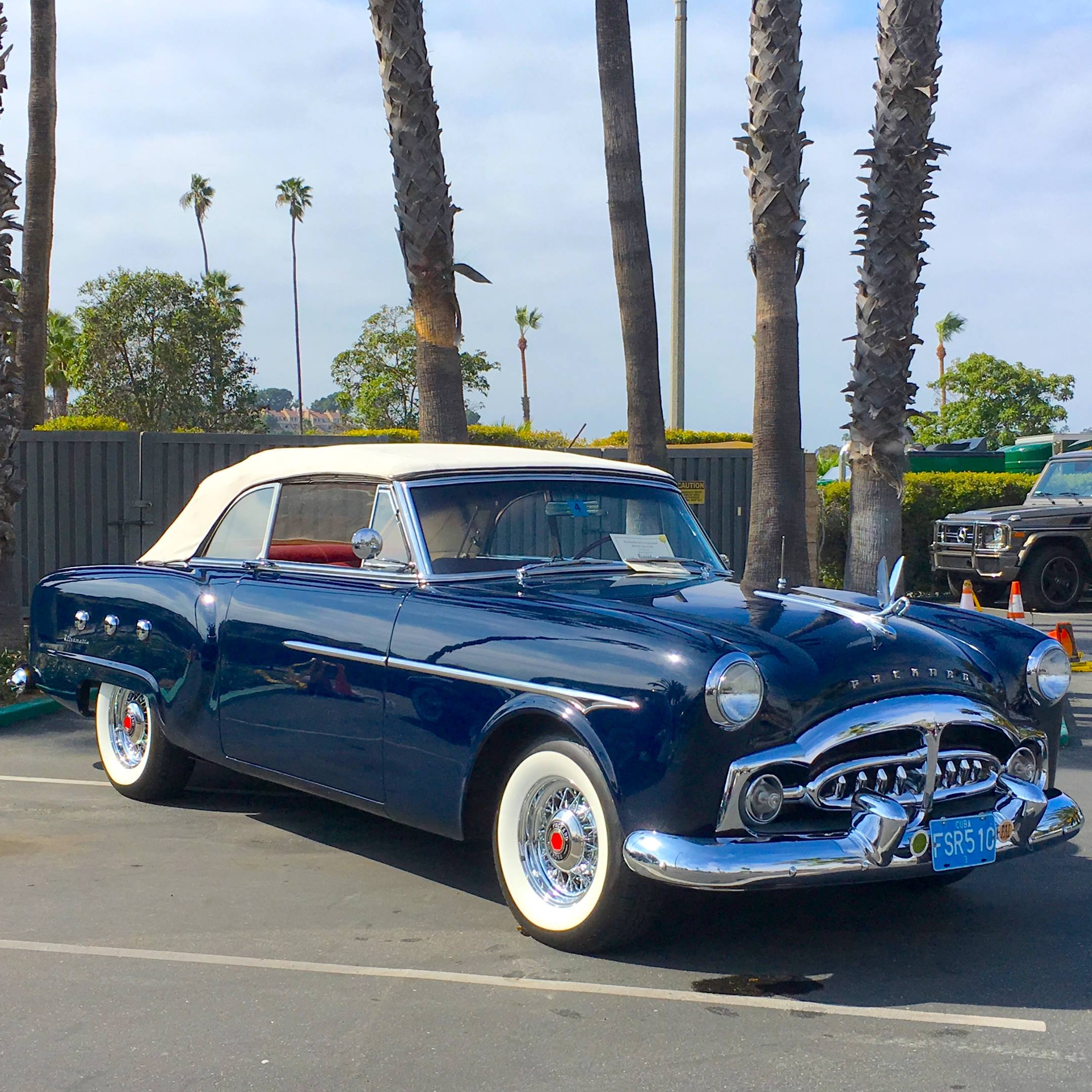 1951 Packard right hand front corner