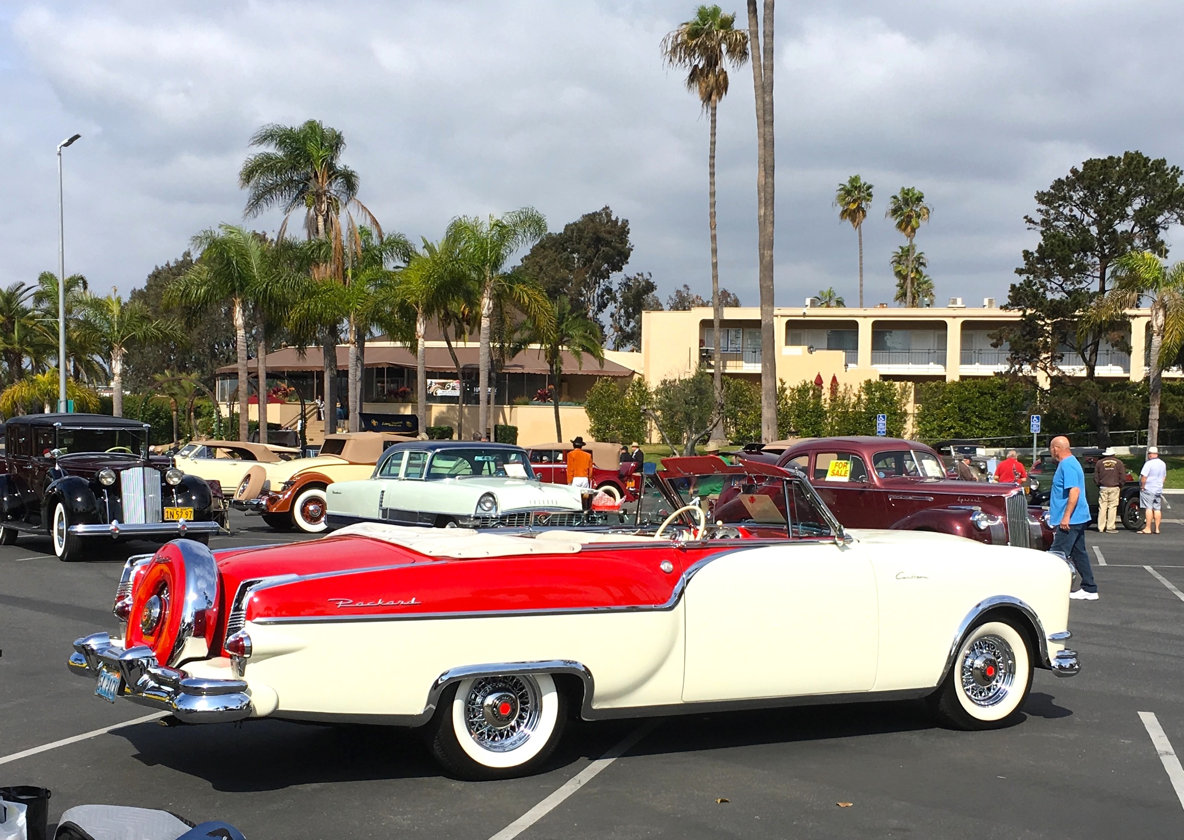 1954 Packard Caribbean right hand side view