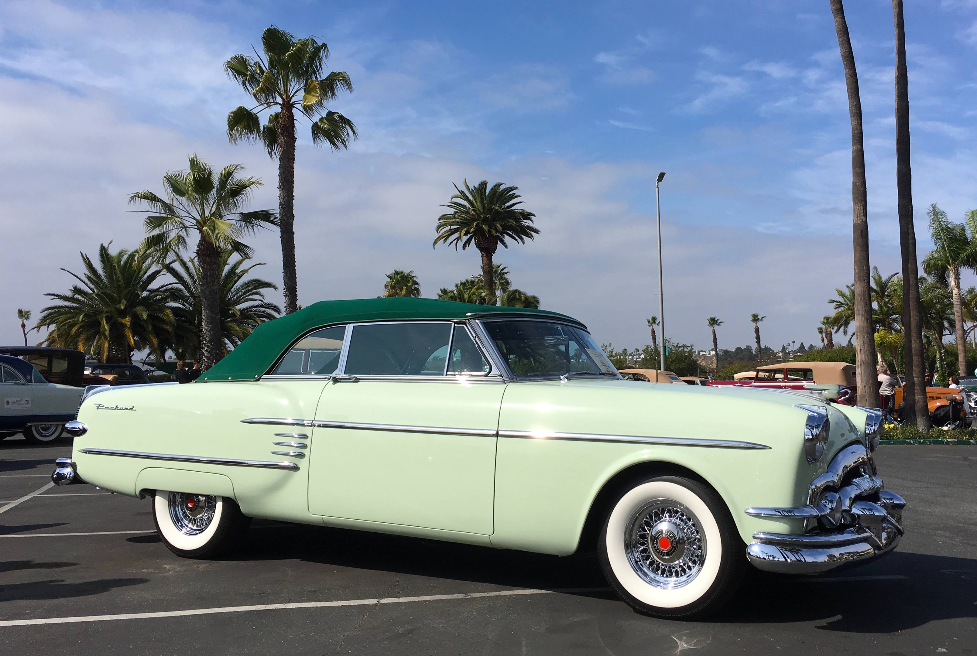 1954 Packard Caribbean right hand side