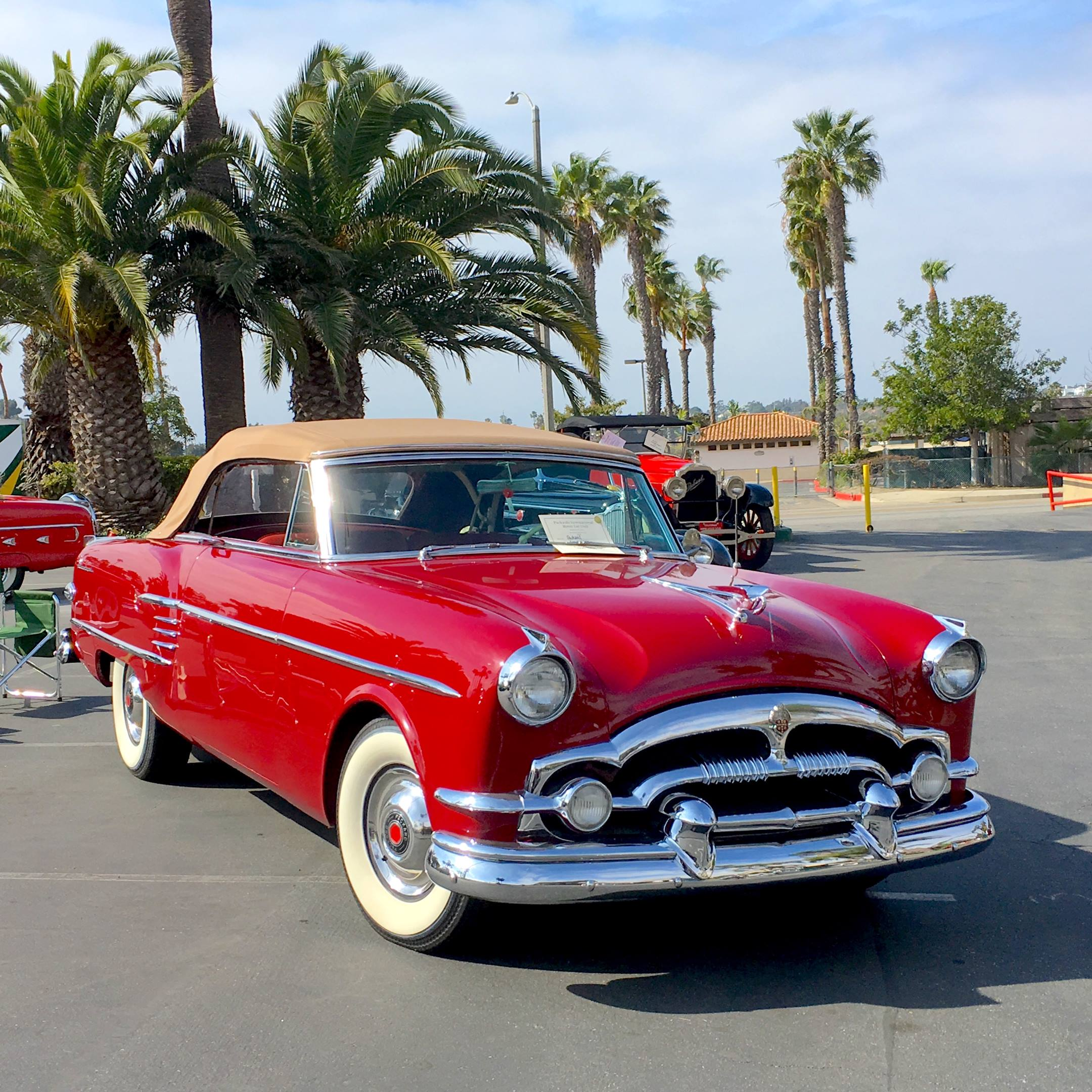 1954 Packard Caribbean left hand front corner