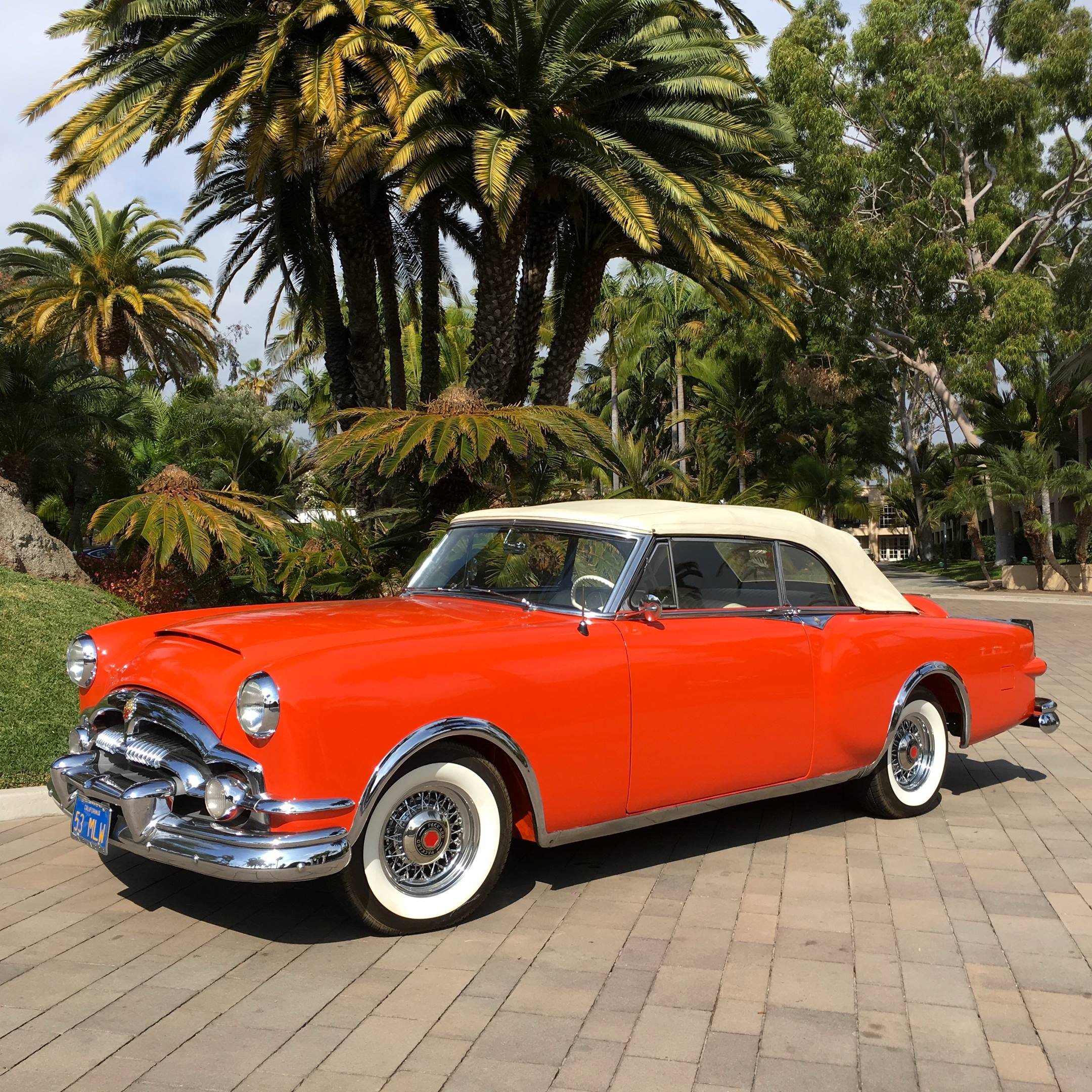 1952 Packard Pan-American Show Car left hand side view
