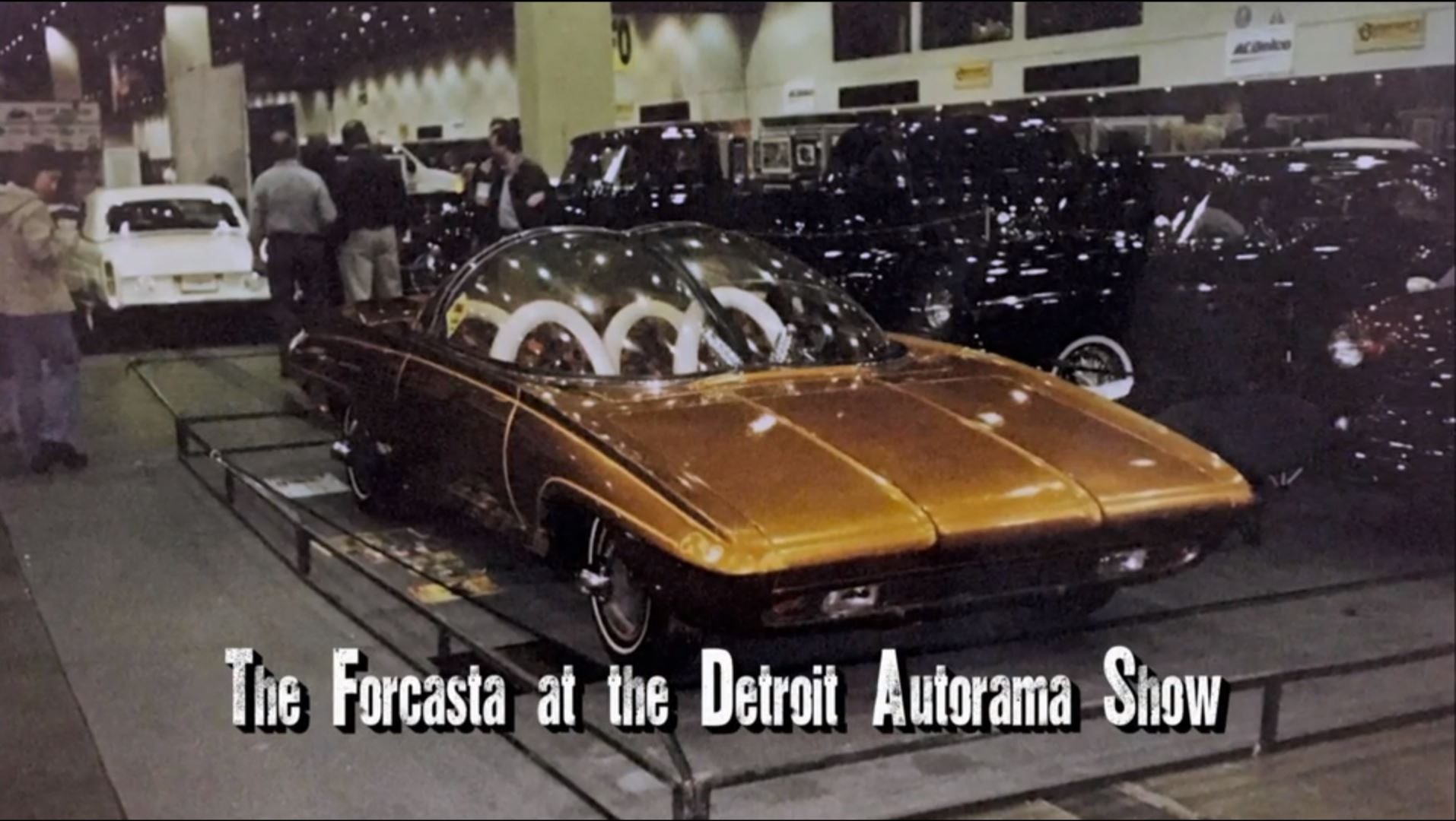 The Forcasta at the Detroit Autorama show