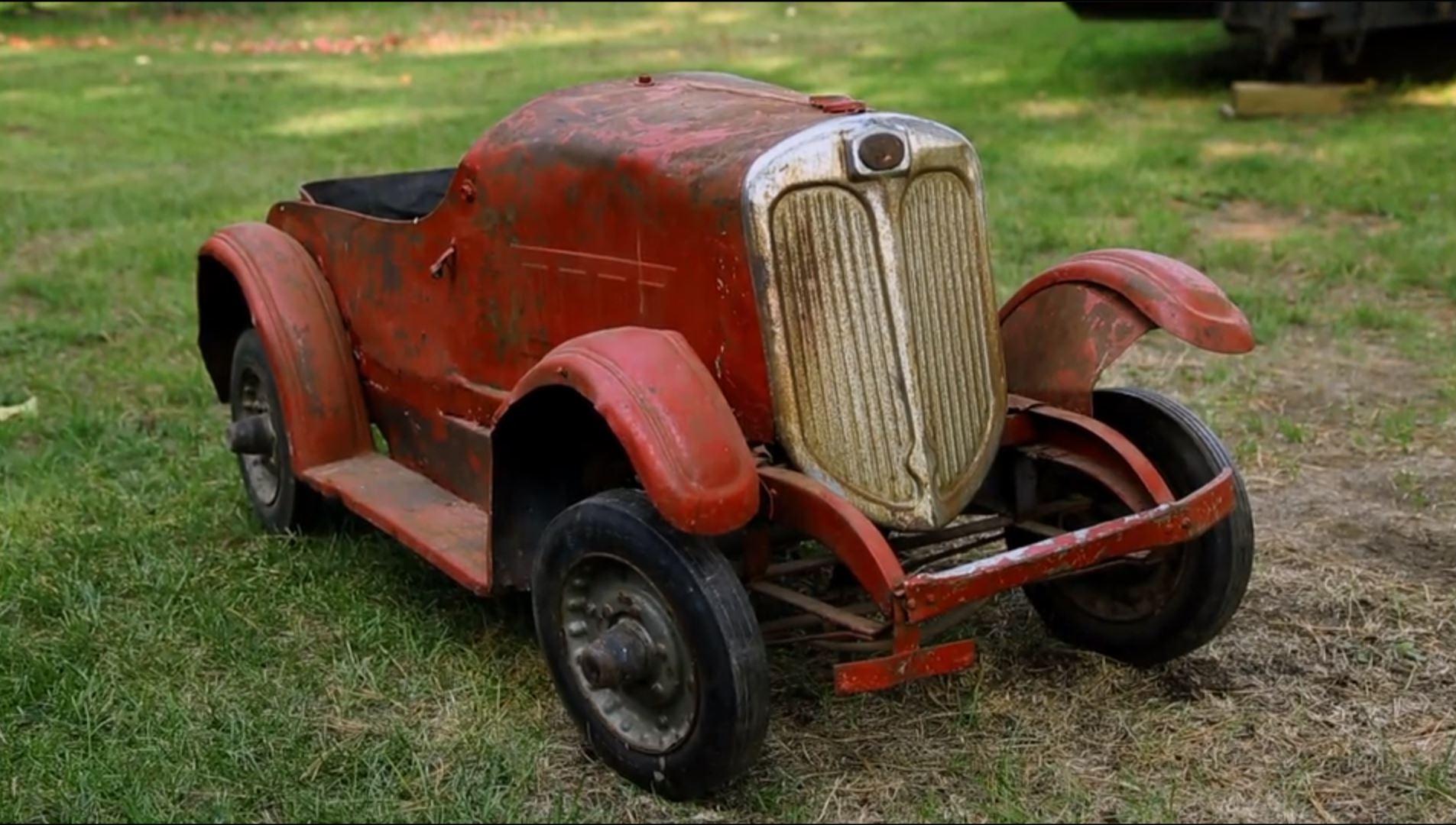 1936 Packard pedal car/carnival ride