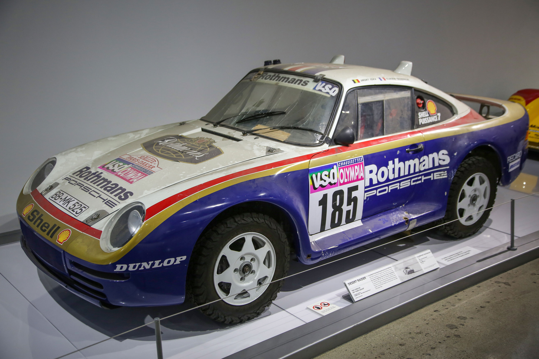 1985 Porsche 959 Paris-Dakar racer