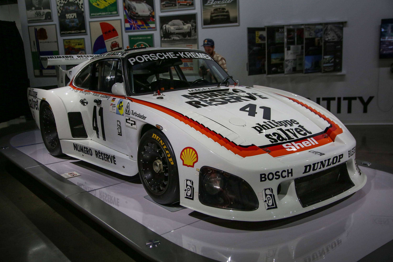1979 Porsche 935 K3, the overall winner of 24 Hours of LeMans in 1979.