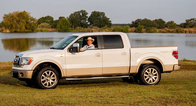 George W. Bush's 2009 F-150 King Ranch 4x4