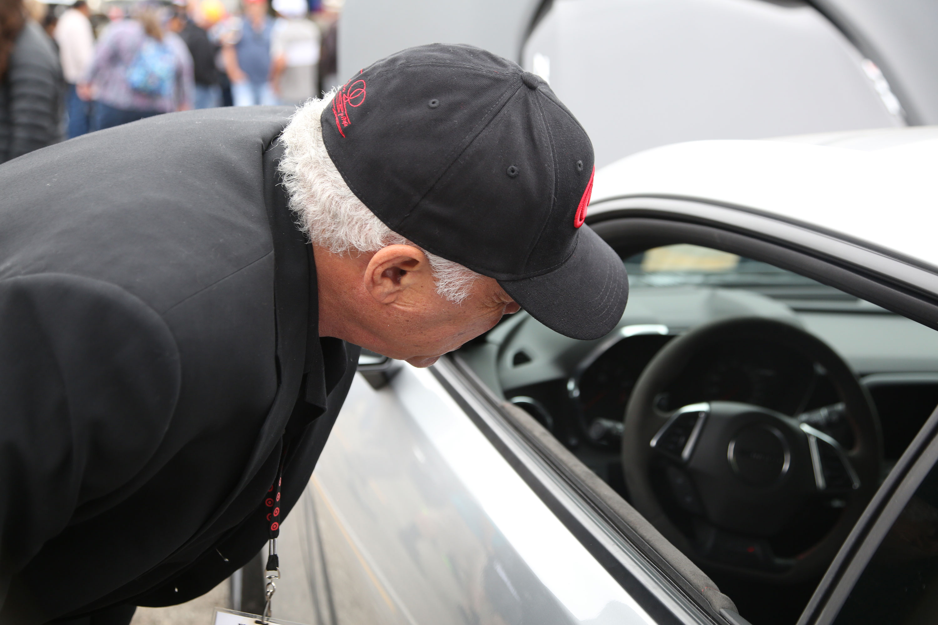 """Prudhomme keeps up with modern performance cars, although he's always described himself as a more of a truck man. On seeing the new Camaro ZL1 he sighed. """"I need one of those now too."""""""